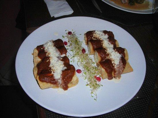 Ante Bistro : Enchiladas Exquisitas