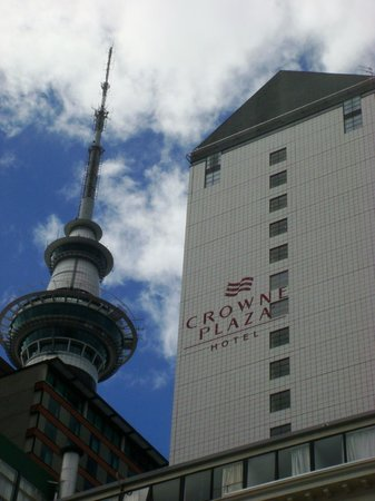 Crowne Plaza Auckland: Clean and modern.