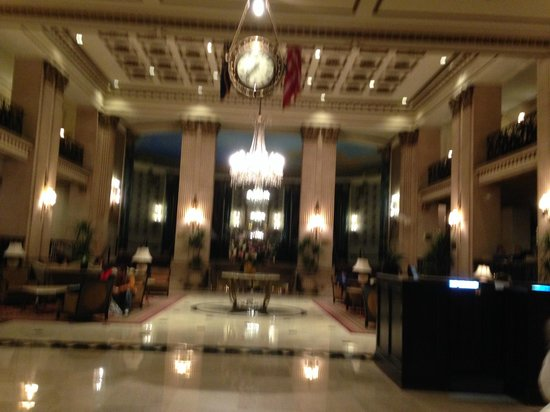 The Roosevelt Hotel: Gorgeous lobby.