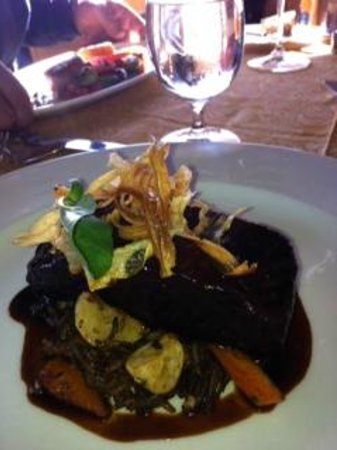 Auberge du Soleil Restaurant : Delicious lunch meal