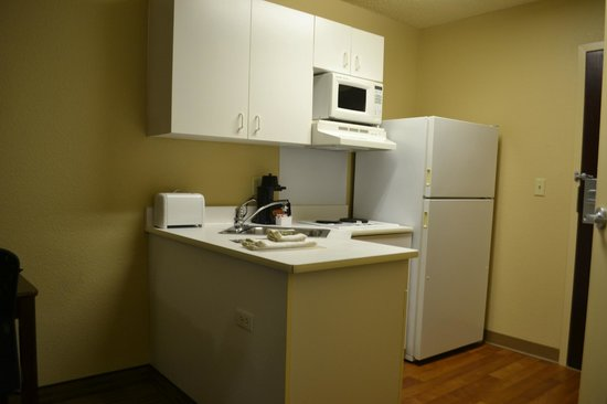 Extended Stay America - Seattle - Bellevue - Downtown : キッチン