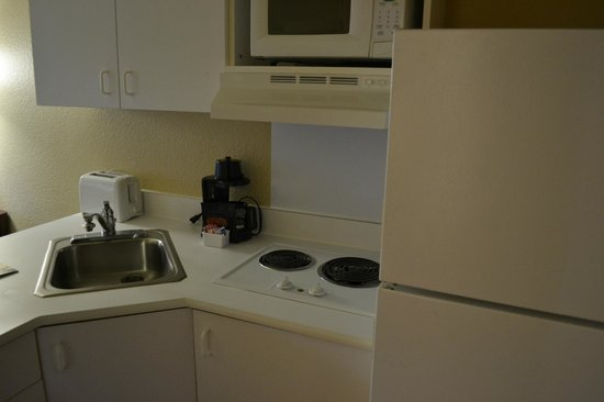 Extended Stay America - Seattle - Bellevue - Downtown: キッチン