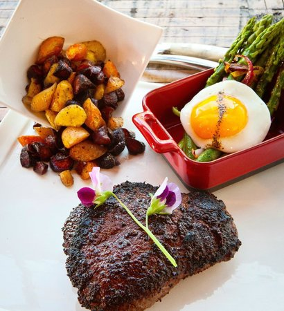 Burwell's Stone Fire Grill: Best Steaks Anywhere