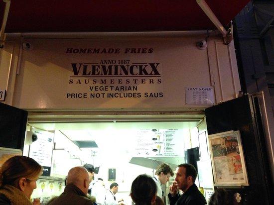 Vlaams Friteshuis Vleminckx : yay