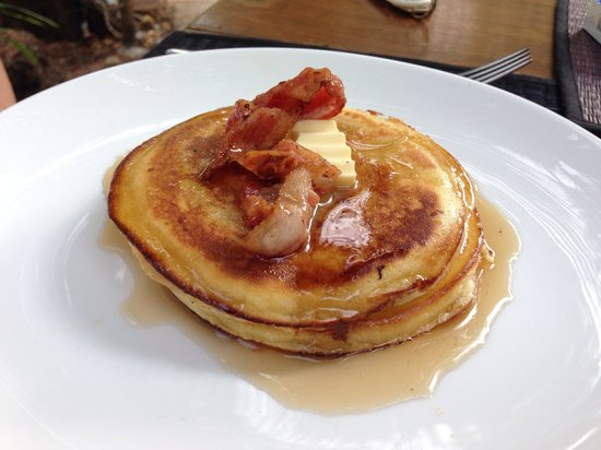 Pagoda Rocks Boutique Guesthouse: Pancake breakfast delicious