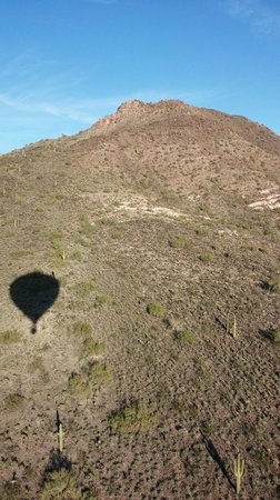 2 Fly Us Hot Air Balloon Rides - Private Flights: Beautiful desert views