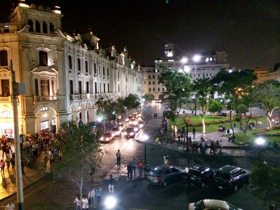 Gran Hotel Bolivar : view from 306