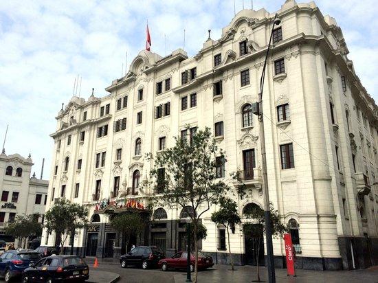 Gran Hotel Bolivar : Beautiful building