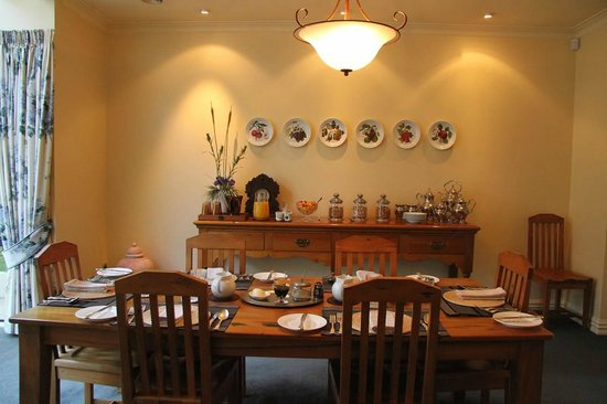 The Springs Luxury Bed and Breakfast : Breakfast @ The Springs