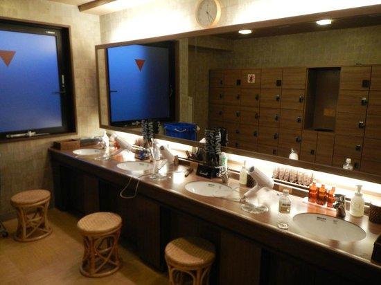 Dormy Inn Premium Kyoto Ekimae : The Onsen bathroom