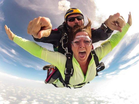 Skydive San Marcos: Tandem skydive. Yeah!!!