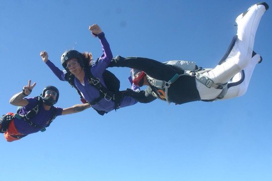 Skydive San Marcos: Come learn to skydive! We have an awesome student program!