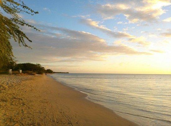 Combate Beach Resort : View of Combate Beach at Parador Combate Beach