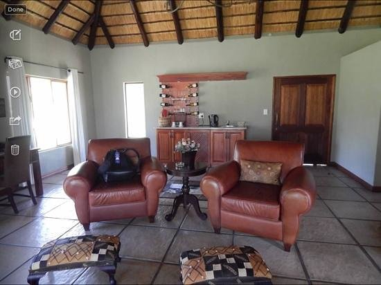 Arathusa Safari Lodge: luxury room