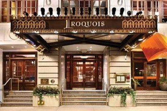 The Iroquois New York: Grand Entrance