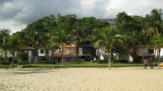 Portogalo Suite Hotel: Condomínio na praia do hotel