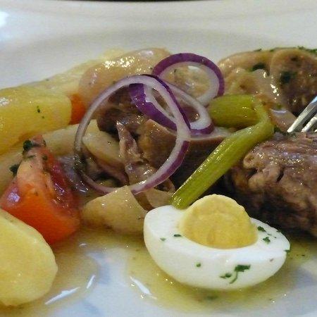 L'Escargot : Tête de veau - Sublime... pour qui aime cette préparation originale