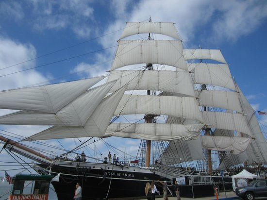 Maritime Museum of San Diego: Star of India!