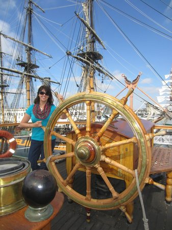 Maritime Museum of San Diego: Guiding the ship….