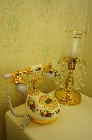 Hayriye Hanim Konagi Hotel : Cute decors (oh the phone does work!)