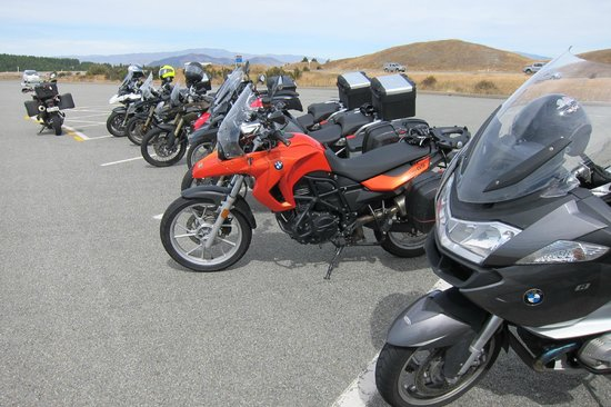 Paradise Motorcycle Day Tours: A selection of Paradise bikes