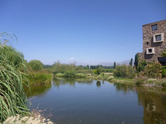 Trout & Wine Tours: Outside Renacer Winery