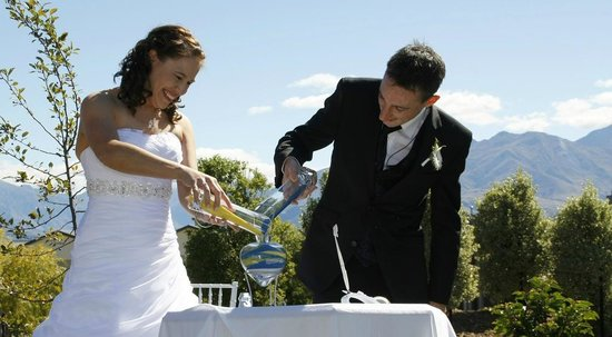 Websters on Wanaka Lodge: The first Wedding@Websters