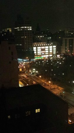 W New York - Union Square: View overlooking Union Square at night