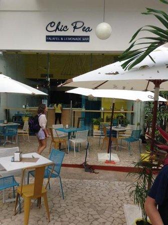 Chic pea: la facade du restaurant