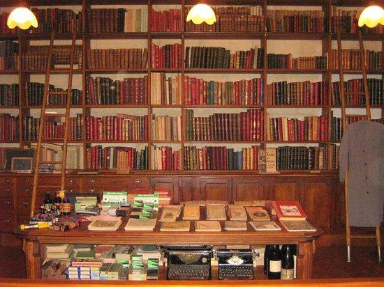 Musee des Commerces d'Autrefois : La librairie