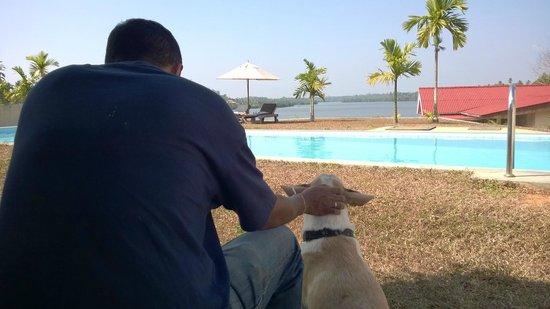 Kalla Bongo Lake Resort: With Bongo near the pool