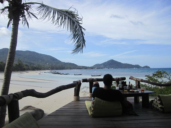 Koh Tao Cabana : Only thing we liked about this place.  The view