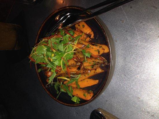 Barbacoa Bali: Burnt carrots