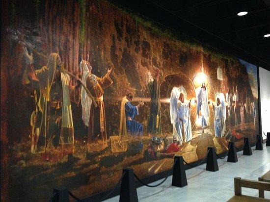 Museum of Biblical Art : The Ressurection mural