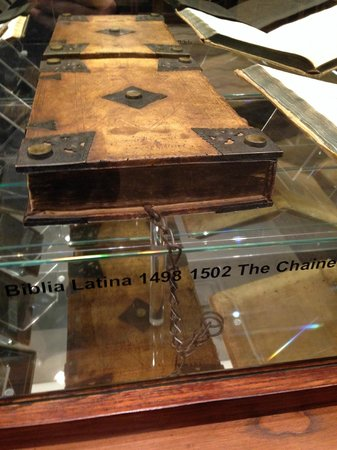 Museum of Biblical Art: The Chained Bible
