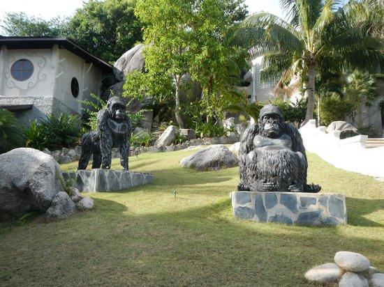 Jamahkiri Resort & Spa: Hotel Decor