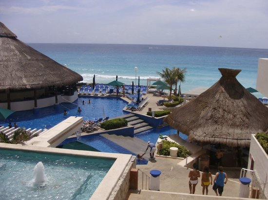 view from my room picture of gr caribe by solaris. Black Bedroom Furniture Sets. Home Design Ideas