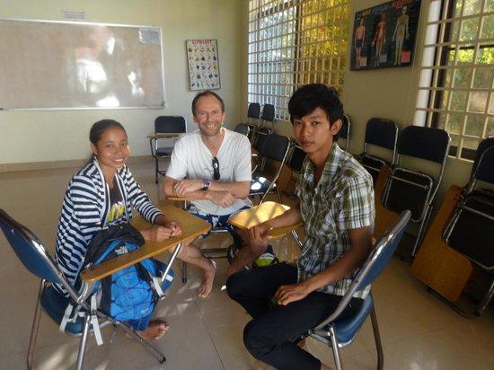 Unique Boutique Cambodia: English conversation class