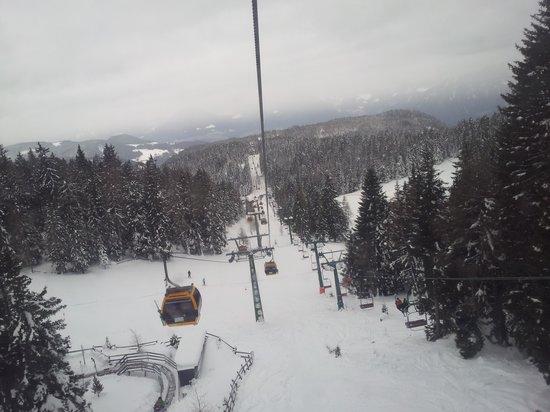 Wander-und Skigebiet Meran 2000: ovovia intermedia
