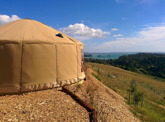 Simply B: The yurt