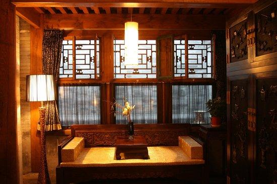 Shichahai Sandalwood Boutique Hotel: Deluxe Suite
