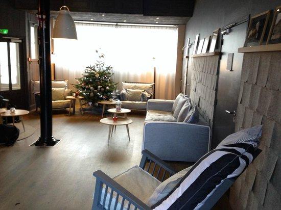 Hotel Le Faucigny: Reception