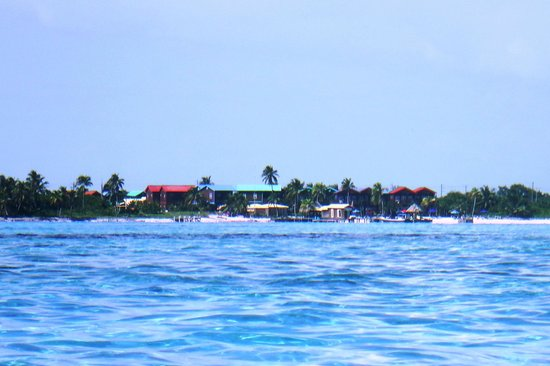 X'tan Ha Resort: From a kayak on the reef
