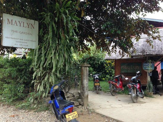 Maylyn Guest House: Entrance to GH