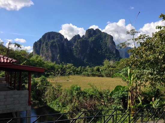 Maylyn Guest House: The amazing view!