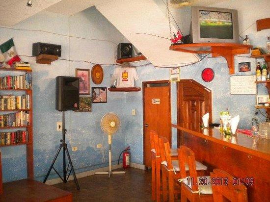 The Flophouse Bar : El interior del bar