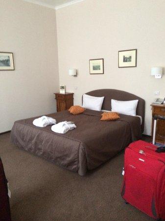 Hotel Leonardo Prague : A Superior Double Room