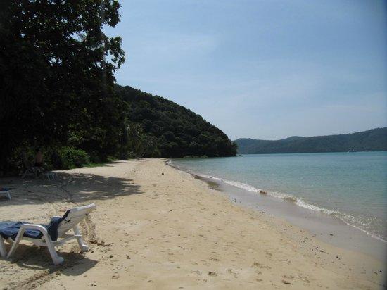 Cloud19 Beach Retreat : plage devant l'hôtel