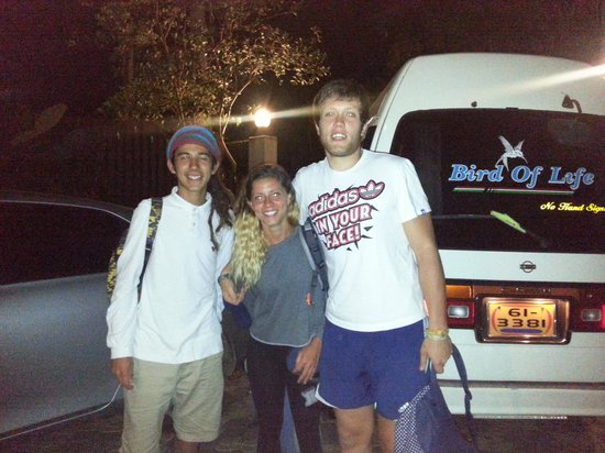 Tree Lodge: Bruce,Dianna & Chris going back to jersey  :(