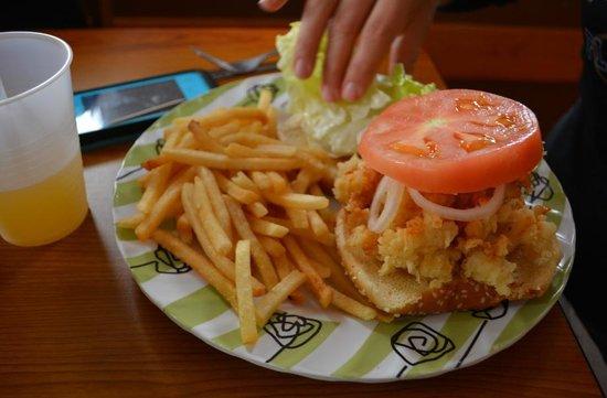 Diamond Sunrise: Conch Burger